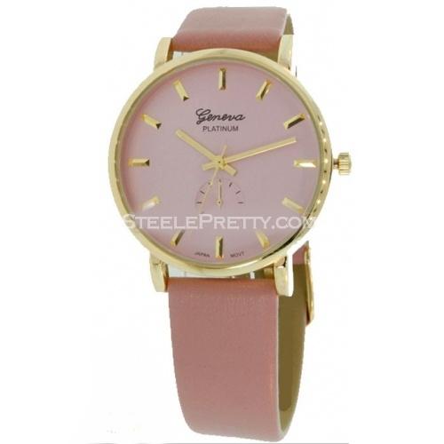 Metallic Blush Watch