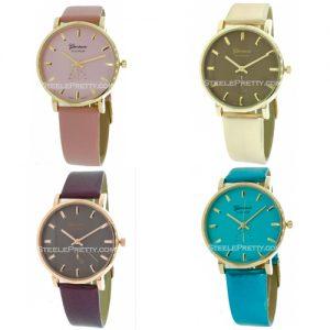 Metallic Watches