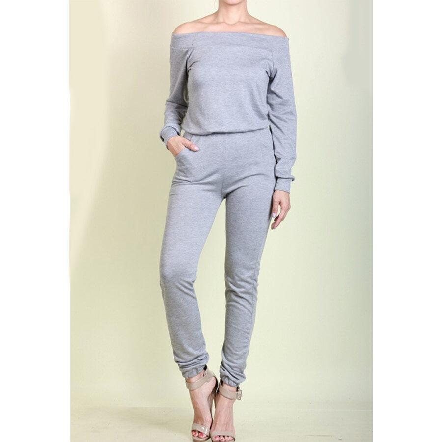 Jasmine Jumpsuit light Grey