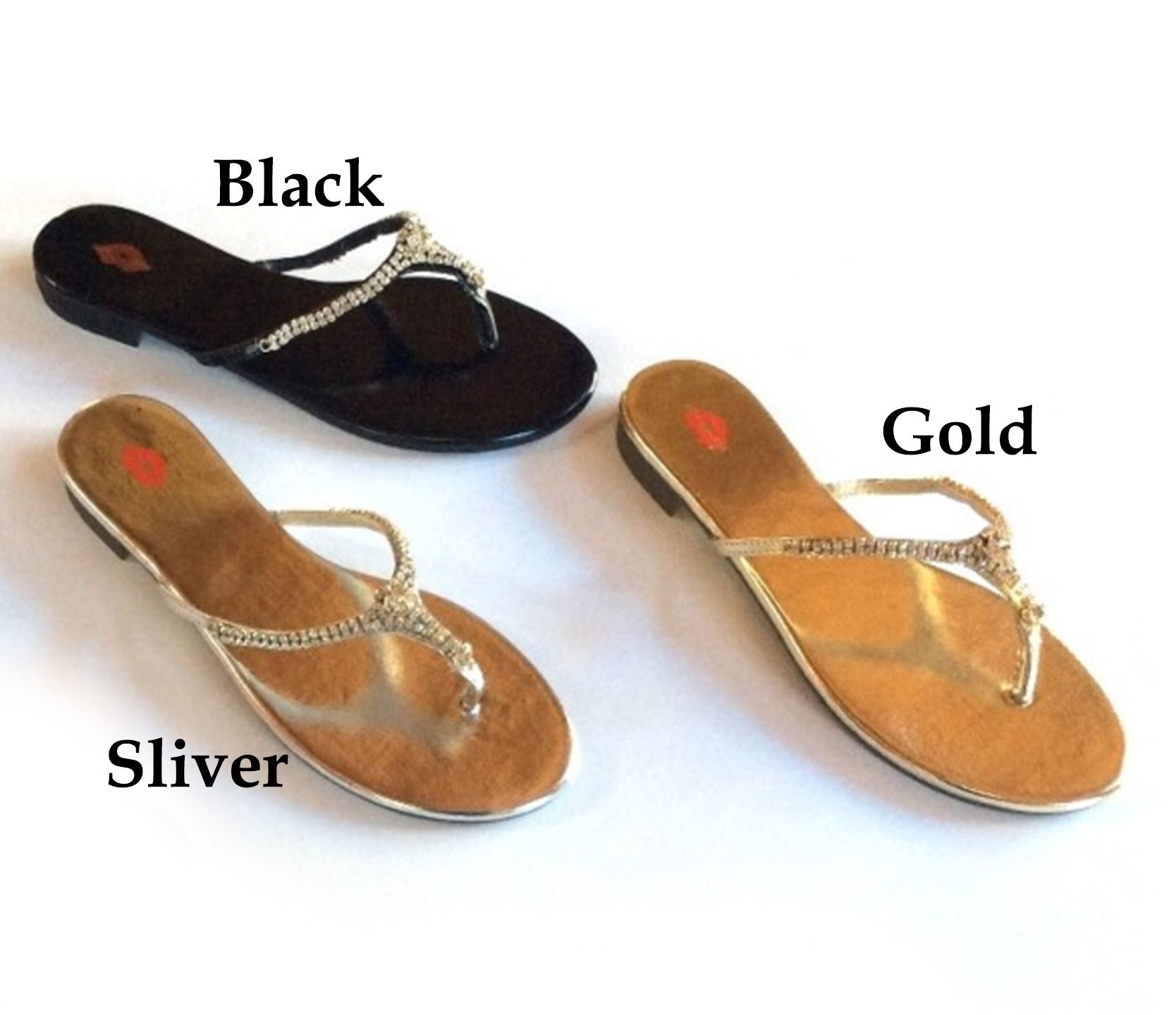 Gold and Shine T-Strap Sandal