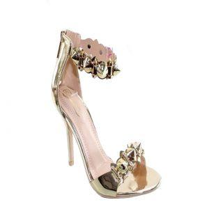Gold Pike Heels