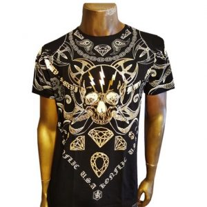 Mens Graphic Foil Design T-Shirt