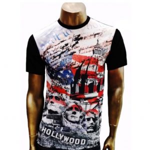 Mens Sublimation Print Tops