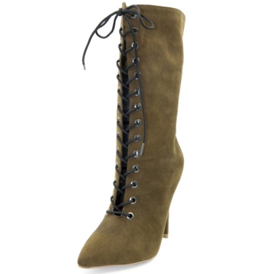 Lace Up Booties - 3 Colors