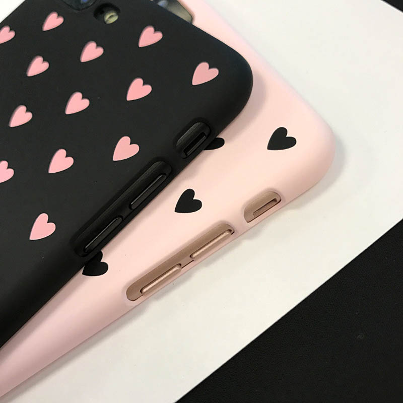 Lovely Love Heart Phone Case