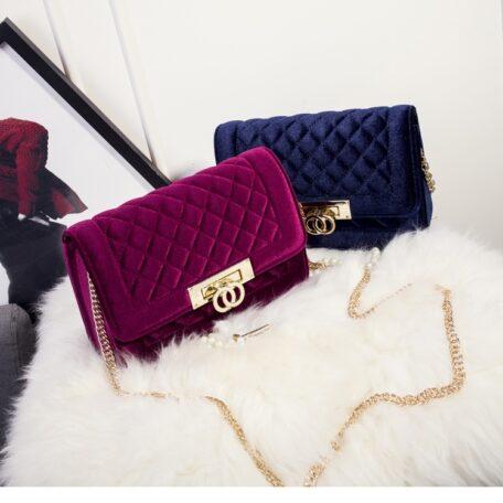 Gucci Inspired Metal Clasp Handbag