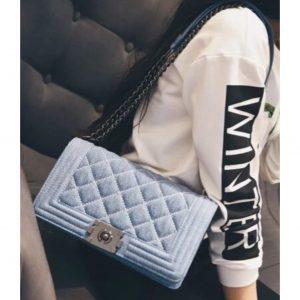 Light Denim Handbag