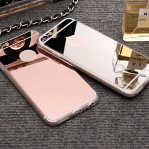 Lux Mirror Soft Silicone Case For iPhone