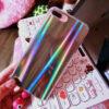 Rainbow Metallic Shining Iphone Case