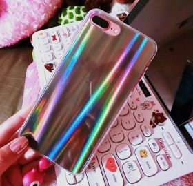 Rainbow Metallic Shining Iphone Case
